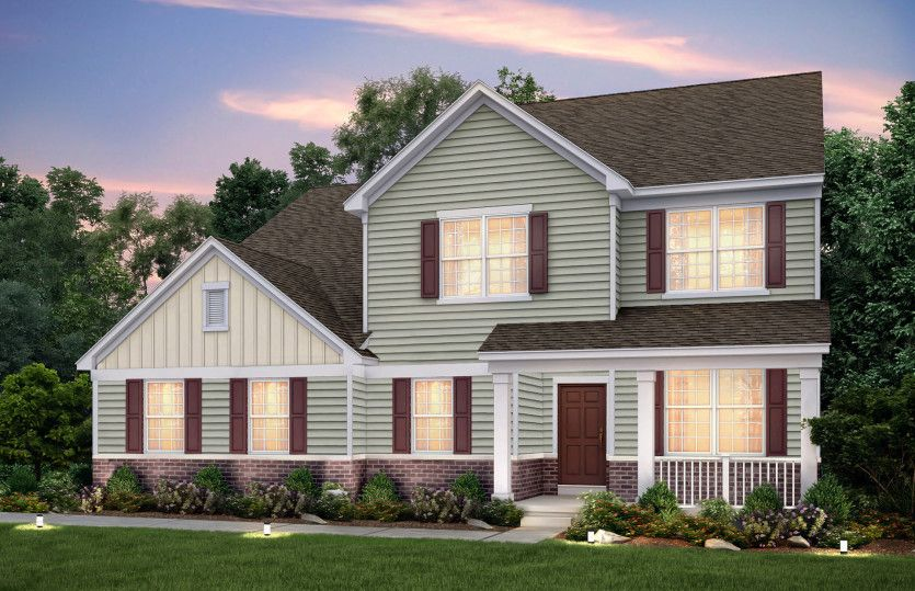 Exterior featured in the Westchester By Pulte Homes in Chicago, IL
