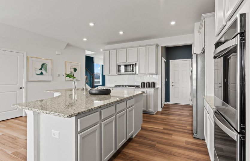 Kitchen featured in the Bowman By Pulte Homes in Chicago, IL