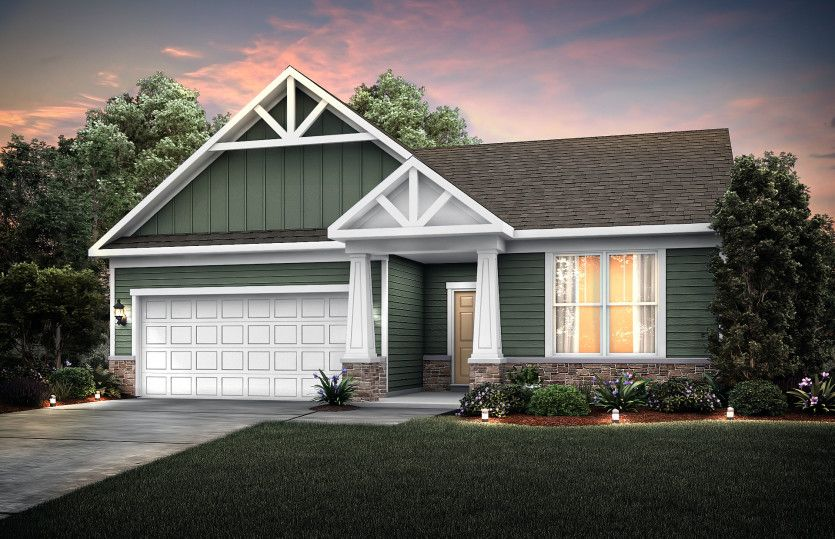 Exterior featured in the Abbeyville with Basement By Pulte Homes in Chicago, IL