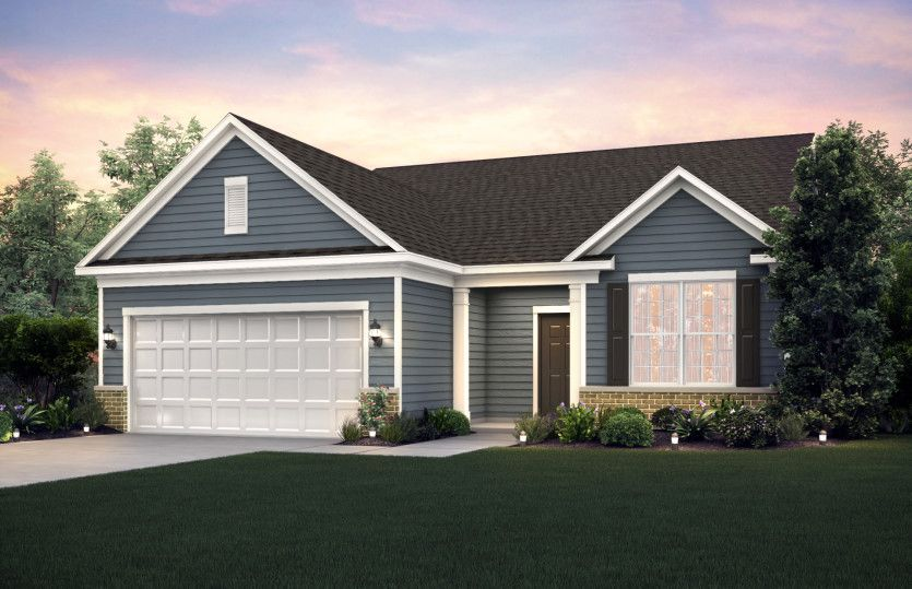Exterior featured in the Martin Ray By Pulte Homes in Chicago, IL