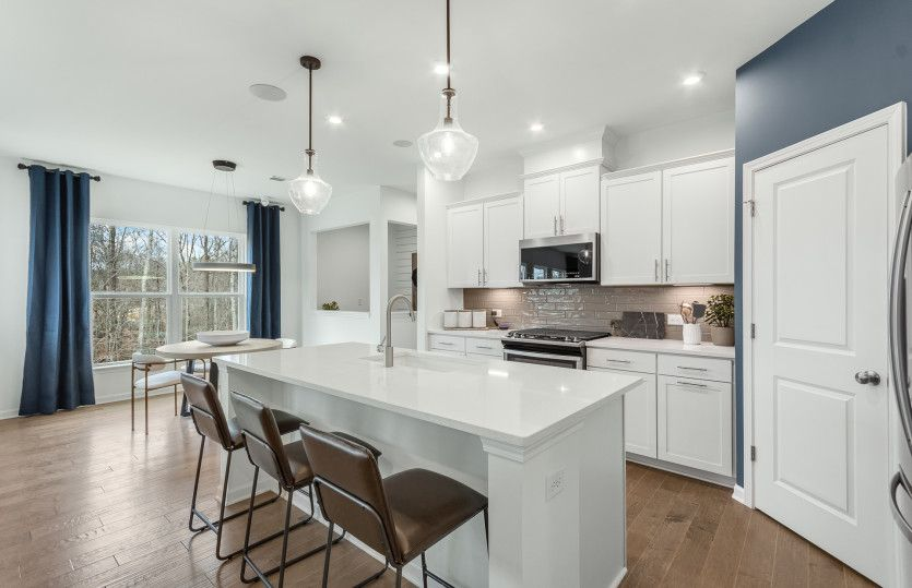 Kitchen featured in the Woodward By Pulte Homes in Atlanta, GA