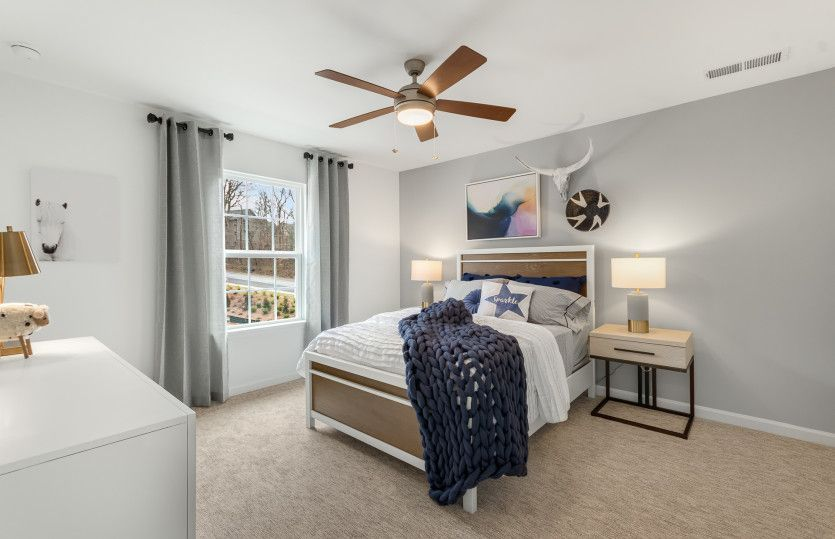Bedroom featured in the Woodward By Pulte Homes in Atlanta, GA
