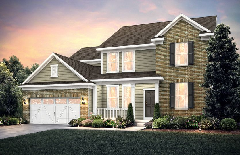 Exterior featured in the Hilltop By Pulte Homes in Chicago, IL