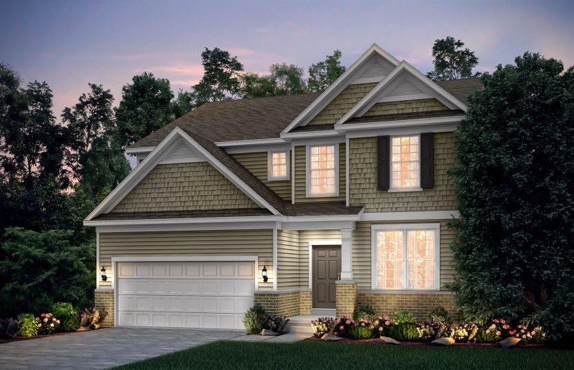 Exterior featured in the Continental By Pulte Homes in Chicago, IL