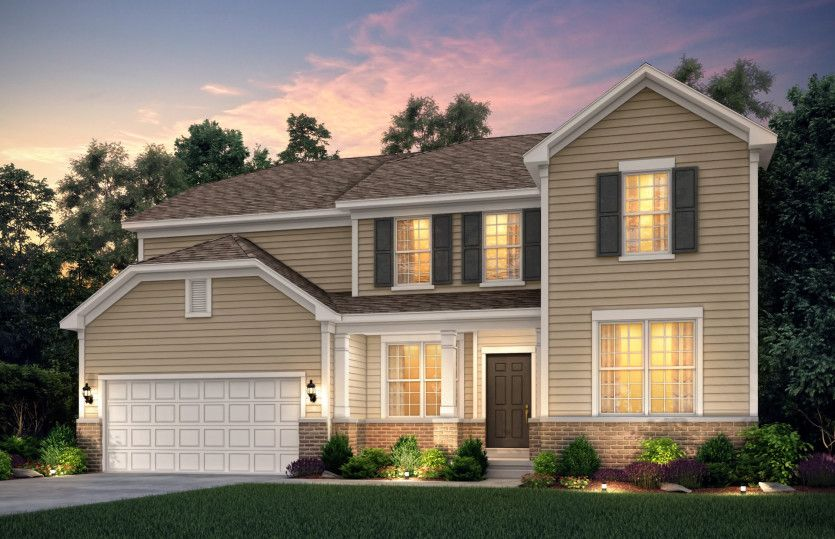 Exterior featured in the Castleton By Pulte Homes in Chicago, IL