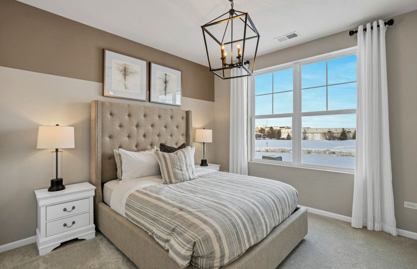 Bedroom featured in the Abbeyville with Basement By Pulte Homes in Chicago, IL