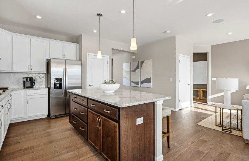 Kitchen featured in the Abbeyville with Basement By Pulte Homes in Chicago, IL