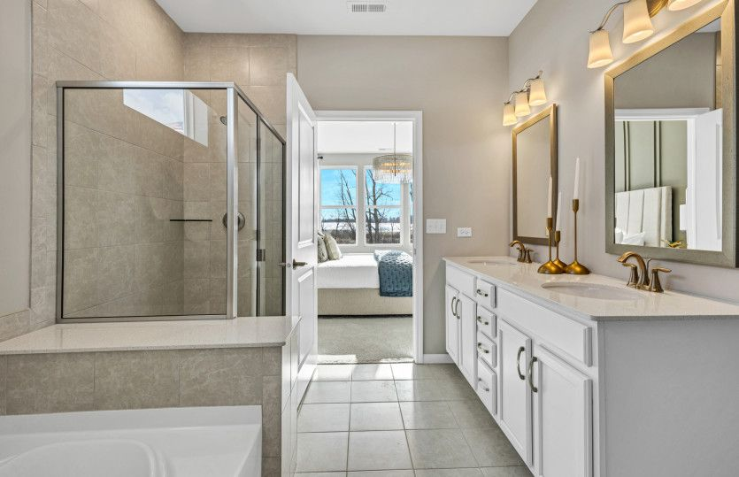 Bathroom featured in the Abbeyville with Basement By Pulte Homes in Chicago, IL
