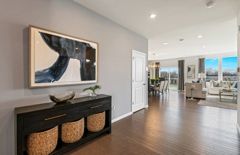 Living Area featured in the Westchester By Pulte Homes in Chicago, IL