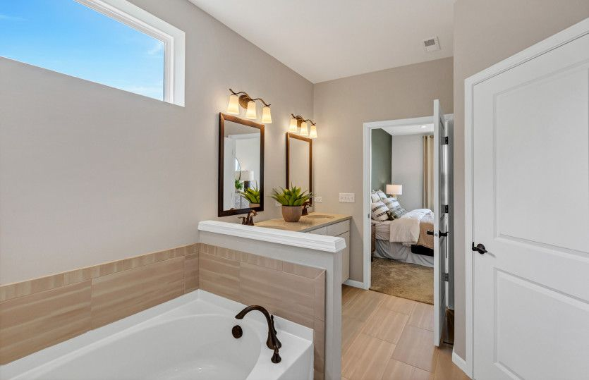 Bathroom featured in the Ascend By Pulte Homes in Chicago, IL