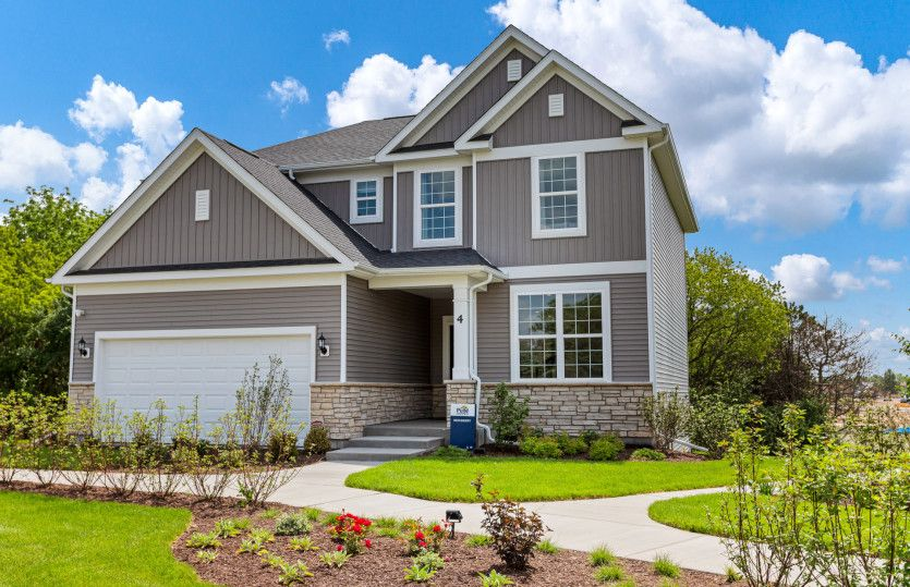 Exterior featured in the Newberry By Pulte Homes in Chicago, IL