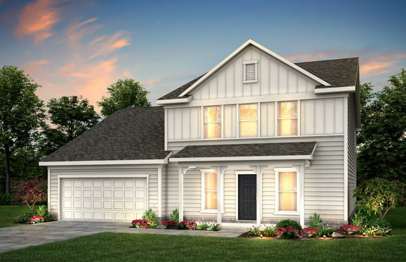 Exterior featured in the Braddock By Pulte Homes in Atlanta, GA
