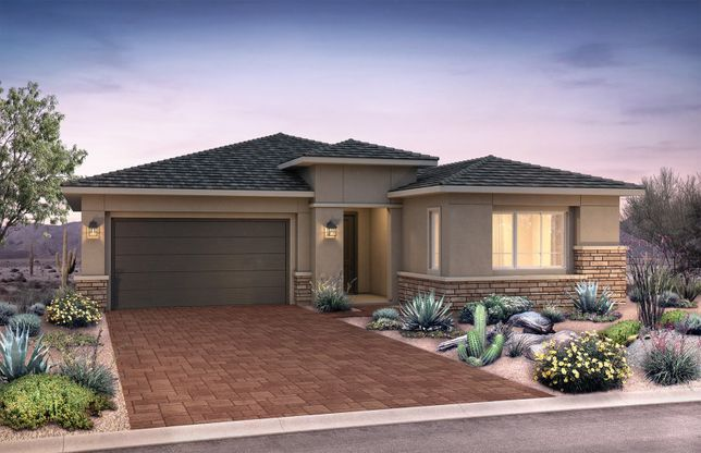 Trieste:New Home Construction in Phoenix - Trieste Exterior C