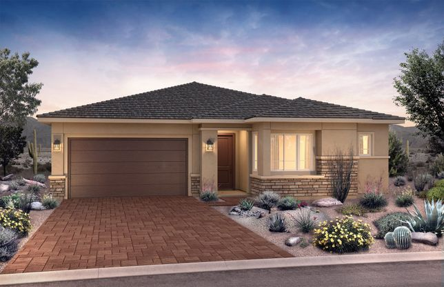 Exterior:New Home Construction in Phoenix - Stella Exterior A