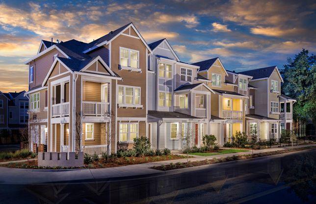 Towns Plan 1:6-Plex Building Exterior