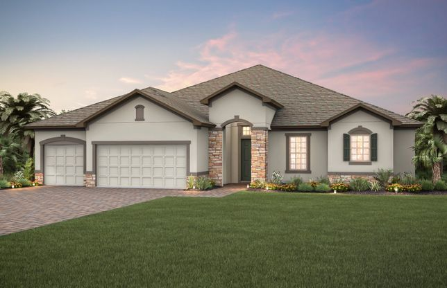 Gardenside:New Construction Home For Sale at Brookmore Estates Exterior 10