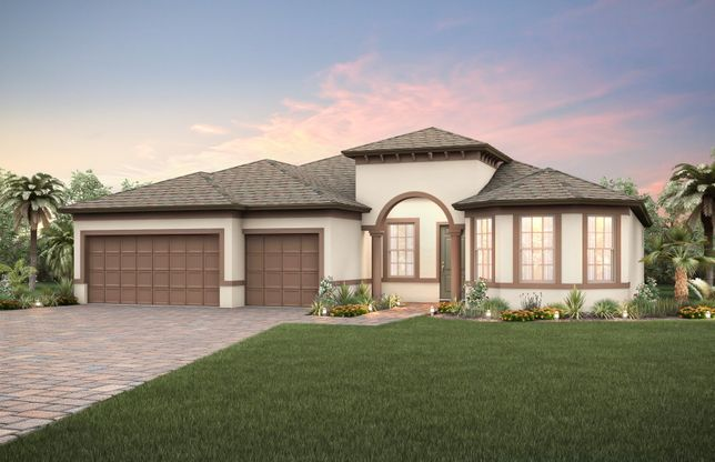 Exterior:New Construction Home For Sale at Retreat at Lake Brantley- 3