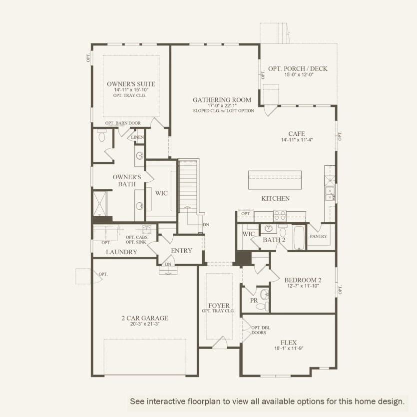 Lyon Plan At Lantern Park In Westfield In By Pulte Homes