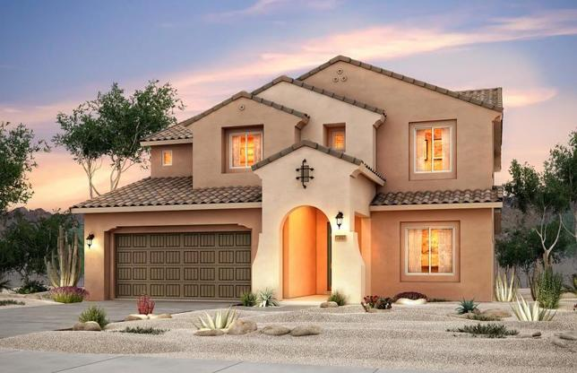 Ridgeview:The Ridgeview is popular for its three-car tandem garage, den on the first floor and four spacious b