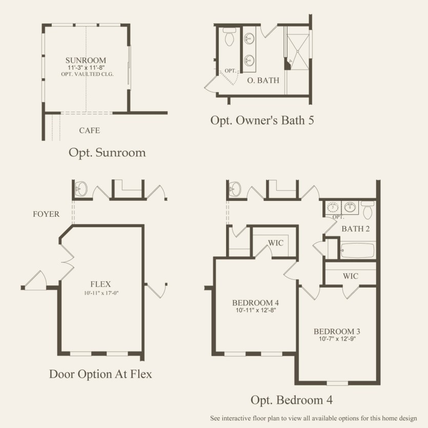 Amberwood Plan At Meadows At Spring Creek In Pickerington Oh By Pulte Homes
