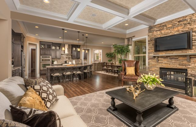 Open Concept Living Floorplans