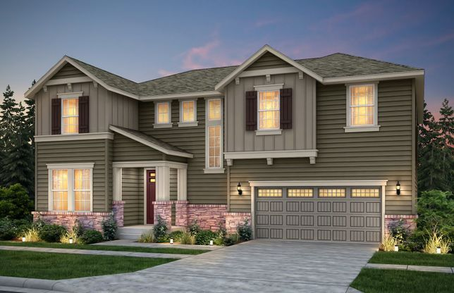 Rainier Plan at North Hill in Duvall, WA by Pulte Homes on