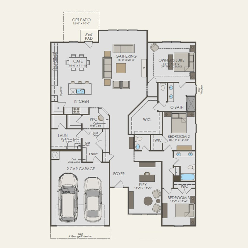 Amberwood Plan At Brixworth In Thompsons Station Tn By Pulte Homes