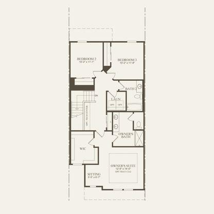 Rainier Plan at Emerson Park in Novi, MI by Pulte Homes on