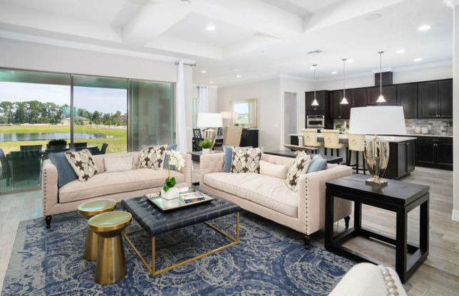 Gardenside:The Gardenside is a Spacious Floorplan with Luxury Options