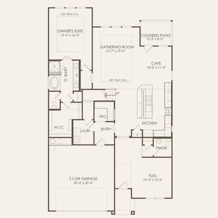 Caldwell Plan At Davis Ranch In San Antonio Tx By Pulte Homes