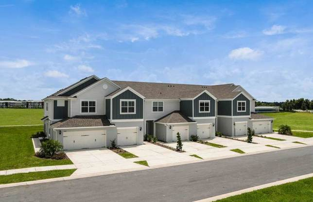 Exterior:New Construction Townhomes For Sale at Somerset Crossings by Pulte Homes
