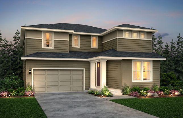 Roslyn:Rosyln home design in exterior option C