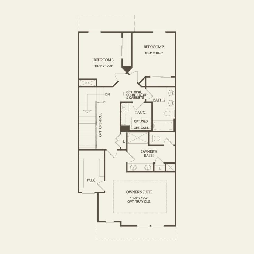 Cascade Plan At Pittsfield Glen In Ann Arbor Mi By Pulte Homes