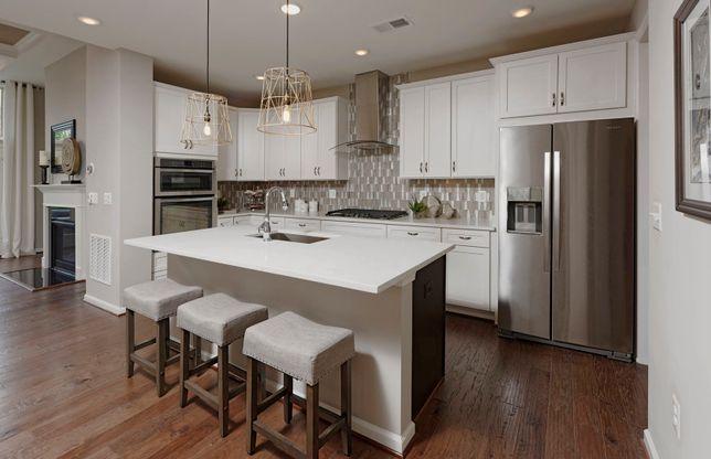Northbrook:Open kitchen