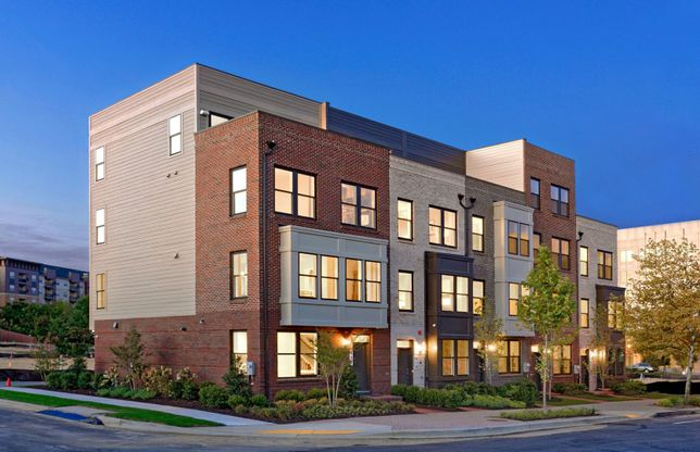 Burton:Rockville's New Luxury Towns with Rooftop Terraces