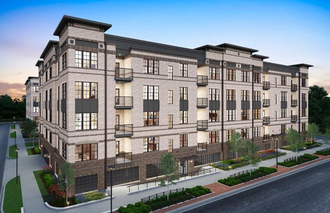 Colton:Low-Maintenance, 1-Level Elevator Condos at MetroPark at Arrowbrook Featuring Easy Living with no St
