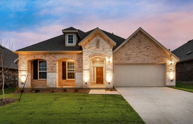 Kennedale:The Kennedale, a 2-story home shown with Exterior C