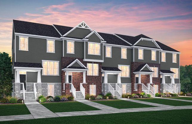 Trenton:5-Unit Townhome Exterior