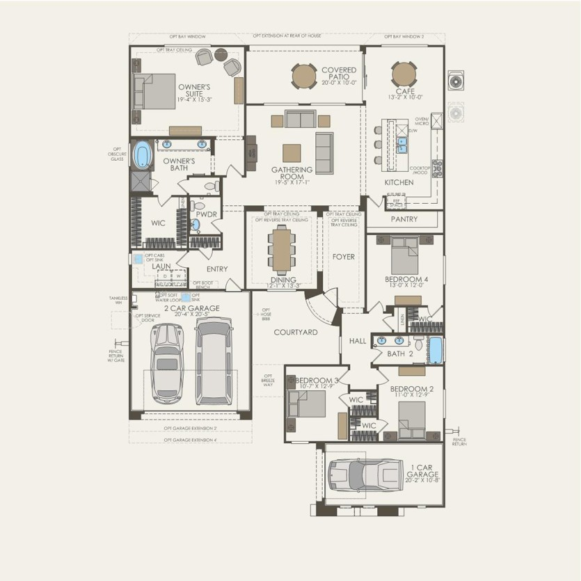 Catalina Plan At Lazy K In Tucson Az By Pulte Homes