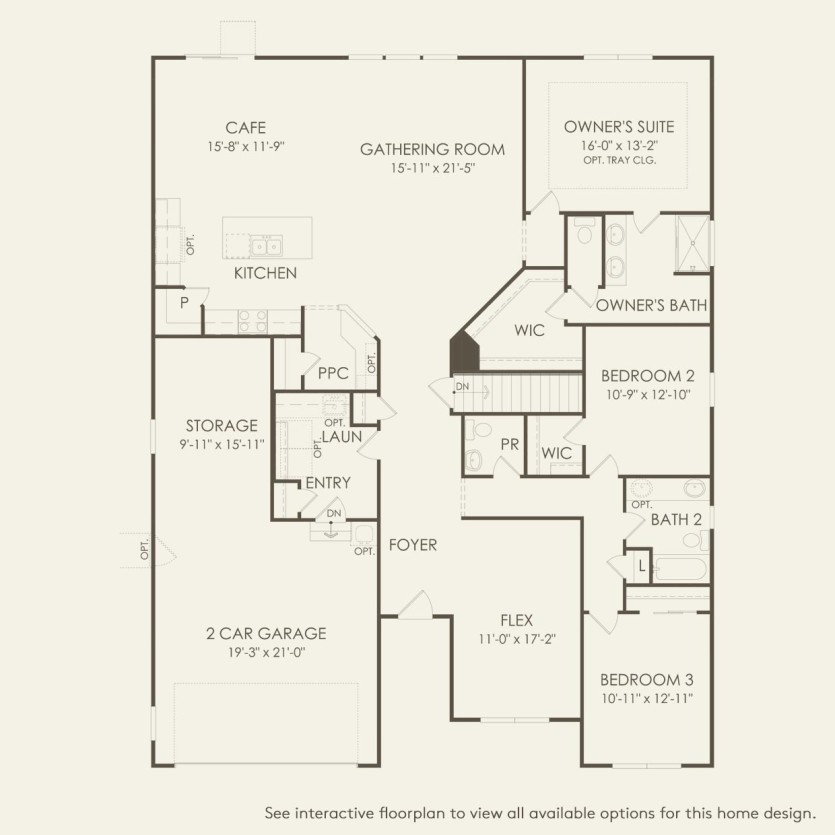 Amberwood Plan At Oakcrest In Mccordsville In By Pulte Homes
