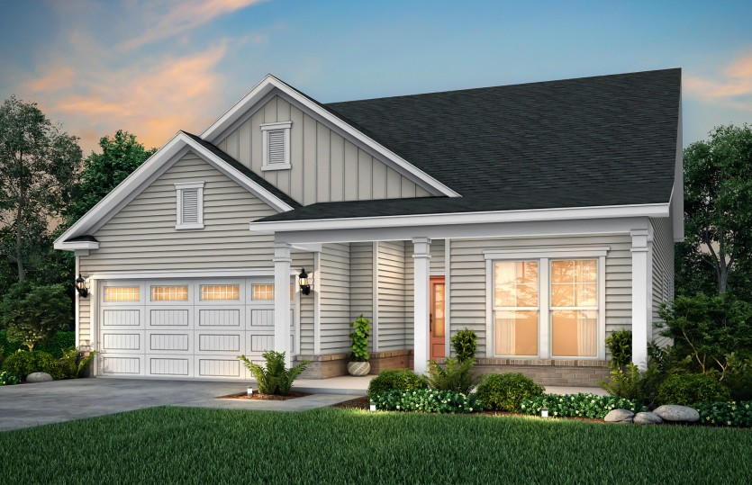 Bedrock Plan At Southstone In Stallings Nc By Pulte Homes