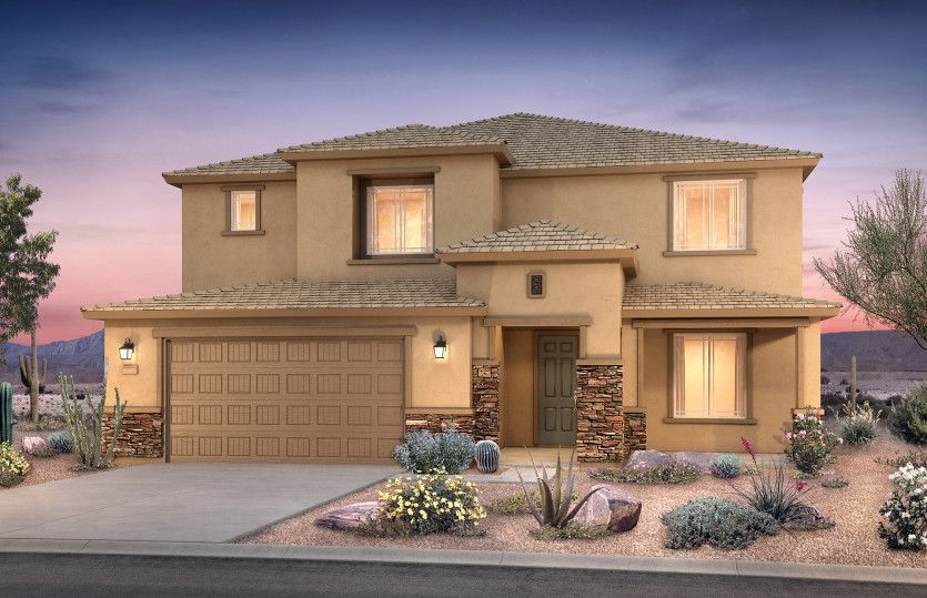 Exterior featured in the Willowbrook By Pulte Homes in Phoenix-Mesa, AZ