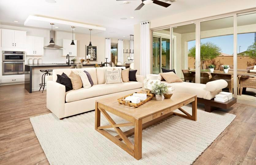 Living Area featured in the Stella By Pulte Homes in Phoenix-Mesa, AZ