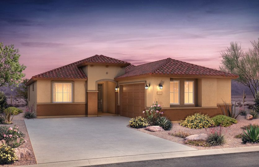 Exterior featured in the Senita By Pulte Homes in Phoenix-Mesa, AZ