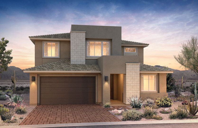 Exterior featured in the Trento By Pulte Homes in Phoenix-Mesa, AZ