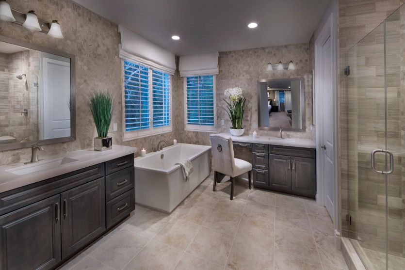 Bathroom featured in the Lucca By Pulte Homes in Los Angeles, CA