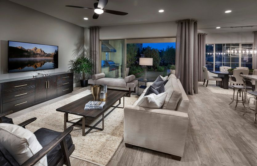Living Area featured in the Lucca By Pulte Homes in Los Angeles, CA