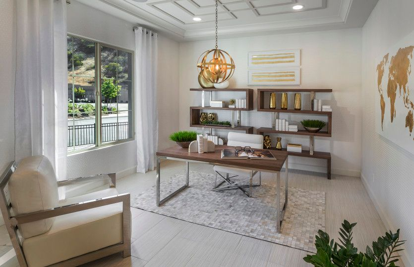 Living Area featured in the Rome By Pulte Homes in Los Angeles, CA