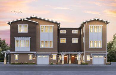 Plan 5 Marquis Menlo Park California Pulte Homes