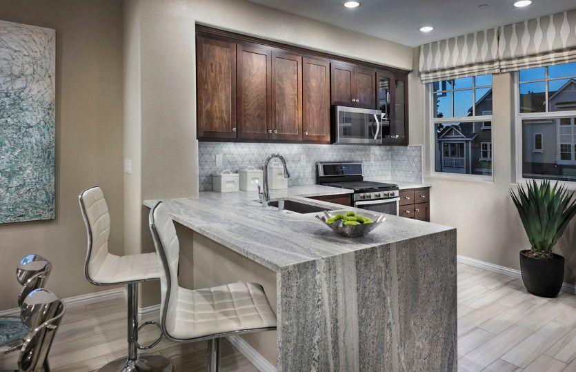 Kitchen-in-Towns Plan 1-at-Radius-in-Mountain View
